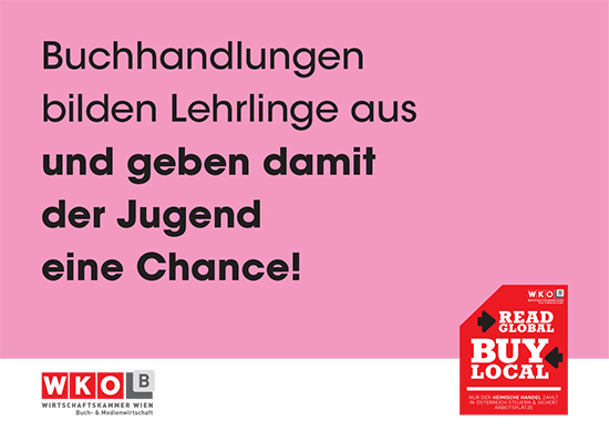 read global, buy local, Buchhandlungen